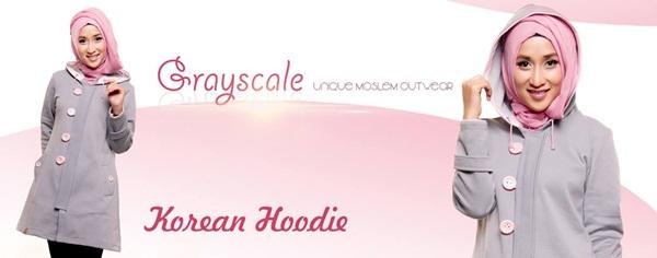 Jual Jaket Grayscale Jaket wanita muslimah Jaket Anak terbaru