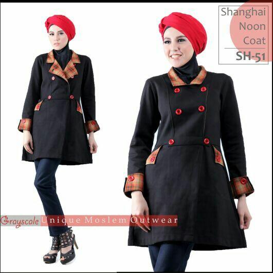 Shanghai Coat Muslimah SH 51