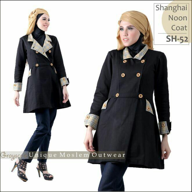 Shanghai Coat Muslimah SH 52