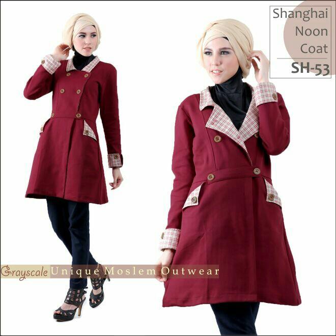 Shanghai Coat Muslimah SH 53