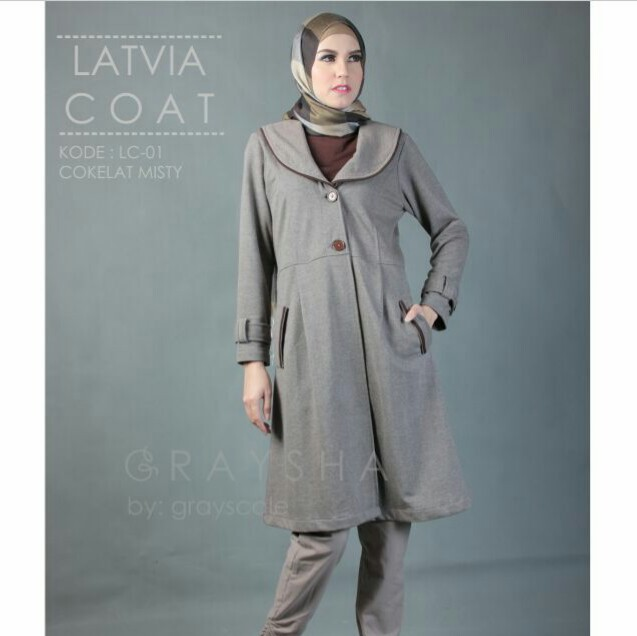 Latvia Coat LC 01