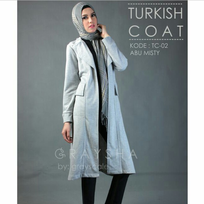 Coat Panjang Muslimah
