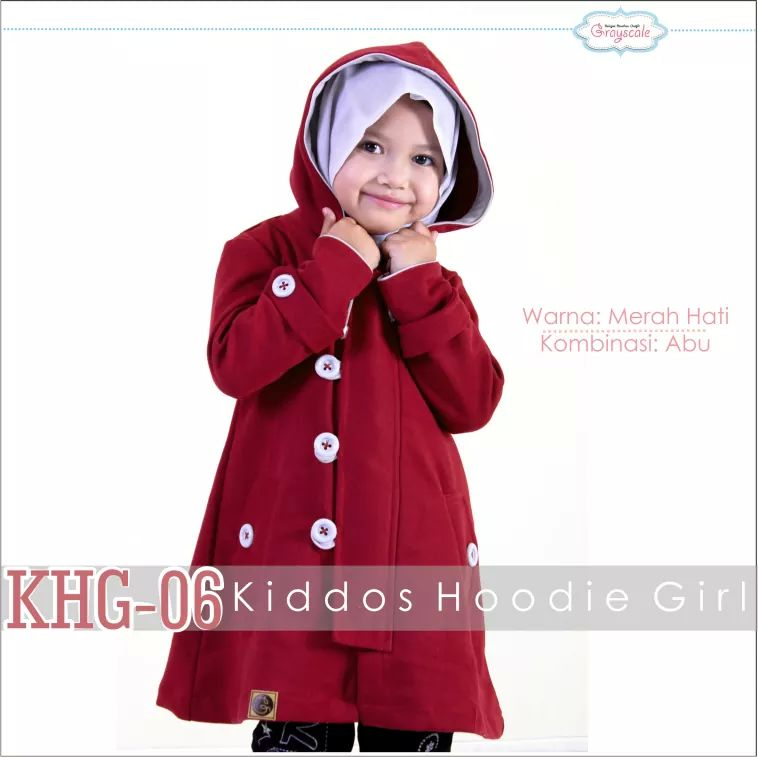 Jaket Anak Perempuan 3 Tahun