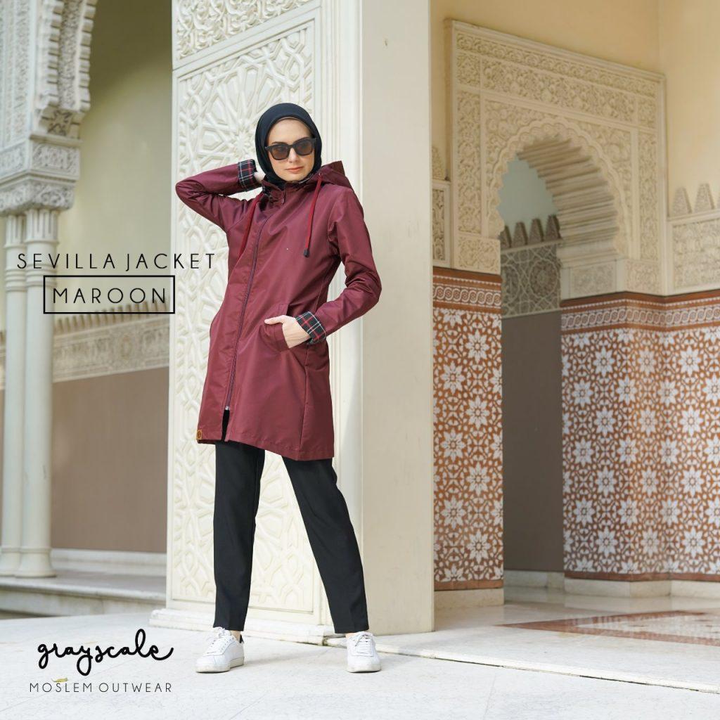 Jaket Wanita Muslimah Anti Air